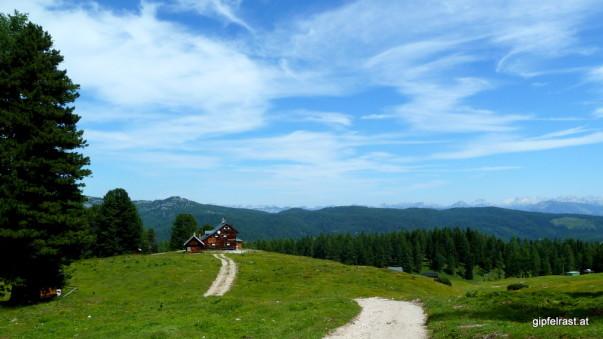 Am Weg zur Brünnerhütte