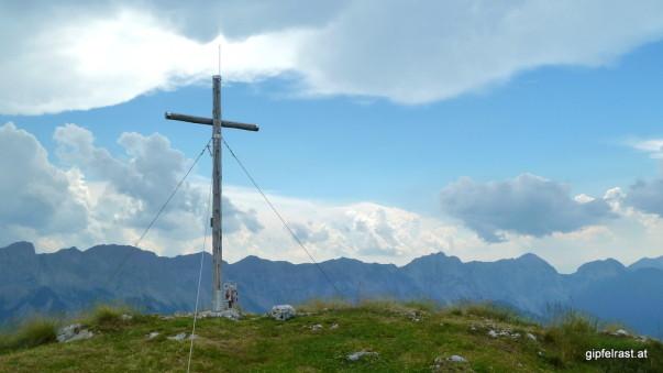 Am Gipfel des Freibergs