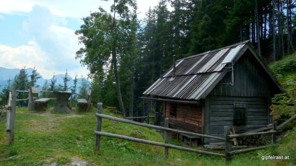 Beim Aufstieg ist mir die Nikolaushütte glatt entgangen