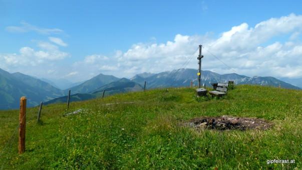 Am Gipfel des Thalerkogels