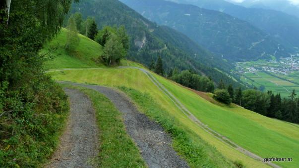 Steile Almwiesen