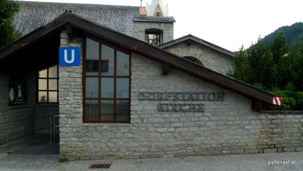 Serfaus ist eines der beiden österreichischen Dörfer mit einem eigenen U-Bahn Netz.