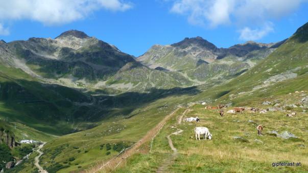 Am Weg zum Furglerjoch