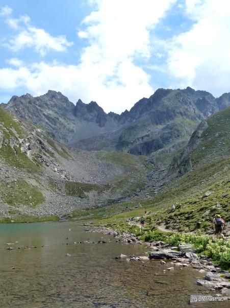 Groaßsee & Wildgrat (links)
