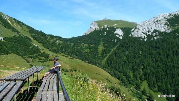 Und so eine Terrasse mit Panorama ist auch nicht zu verachten...