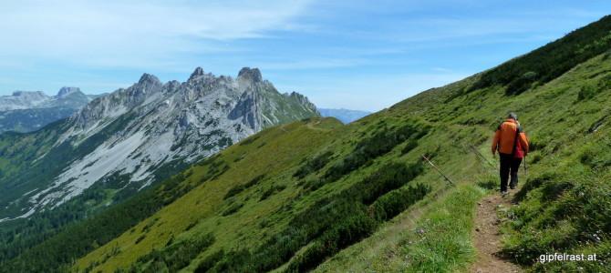 Gut gepolstert ins Gebirge