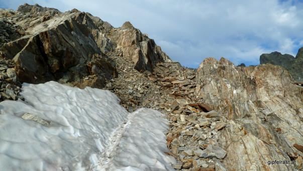 Kleines Schneefeld