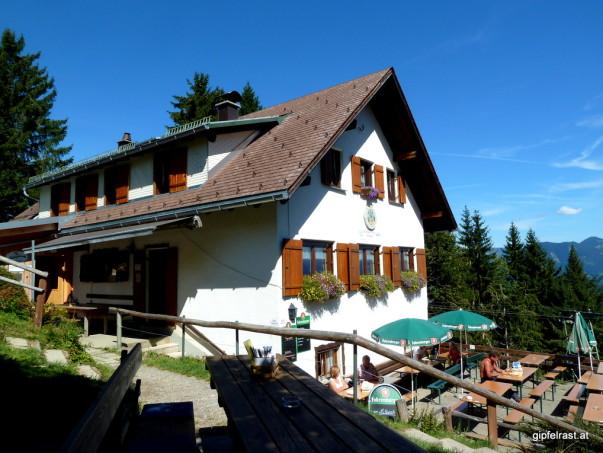 Letzter Stopp: Feldkircher Hütte