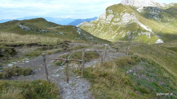 Die schwer bewachte Grenze zwischen Österreich und Liechtenstein