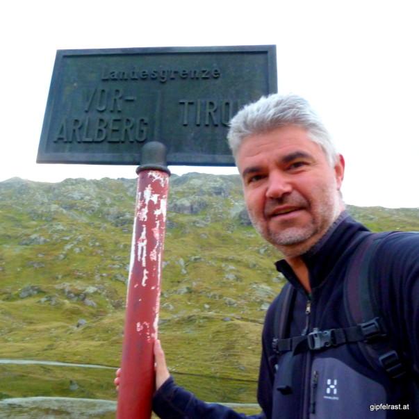 Erneut an der Grenze zu Vorarlberg