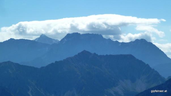 Schesaplana, wieder mit Wolkenhut
