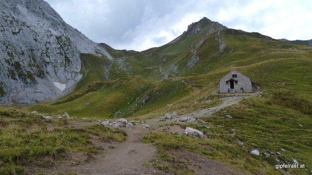 Die Zollhütte im Schweizer Tor
