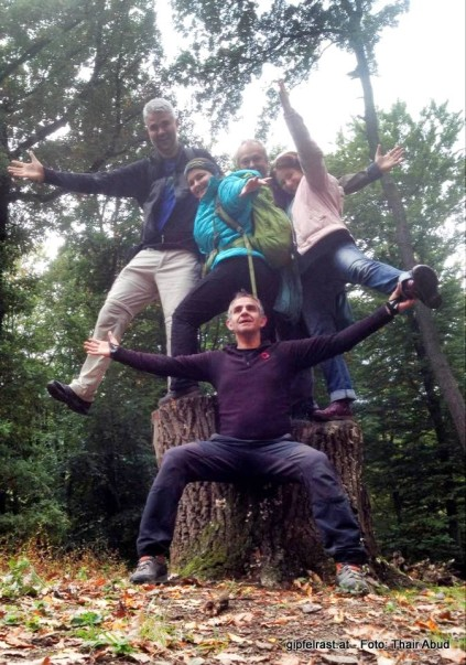 Ali, Meister der Selfies & seine Gefolgschaft