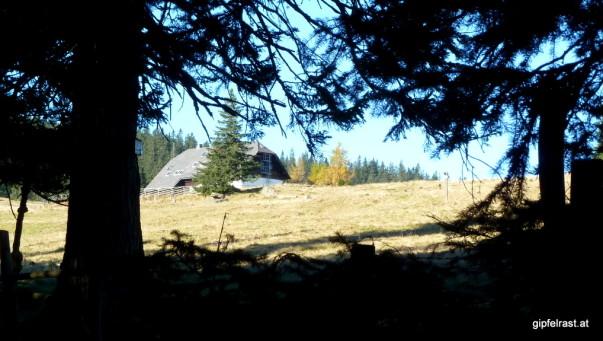 Bei der Schwanberger Brendlhütte