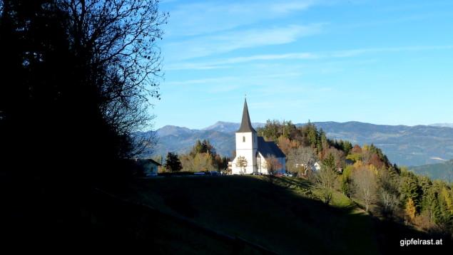 Frauenberg mit der Kirche Maria Rehkogel