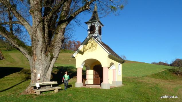 Bei der Kapelle in Gnaning