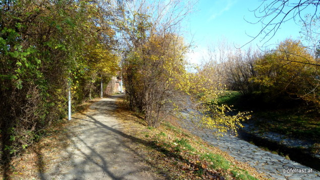 Herbstlich entlang der Liesing