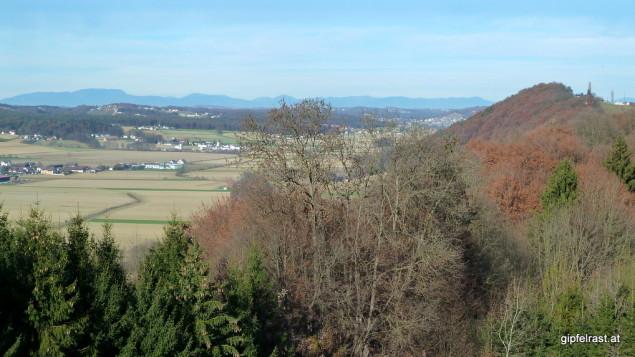 Ausblick vom Wiersdorfberg