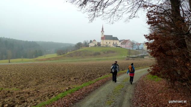 Ankunft in St. Nikolai ob Draßling