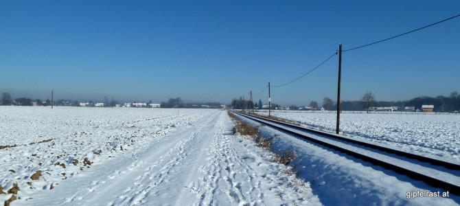 Der Grenzland-Bahnweg von Gosdorf nach Spielfeld