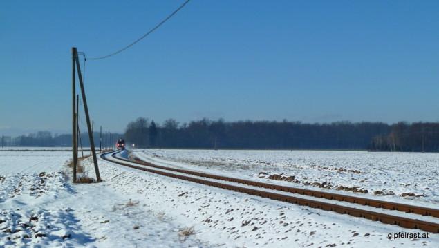 S-Bahn auf der Radkersburger Bahn