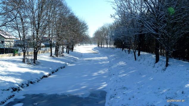 Saßbach (gefroren)