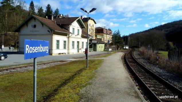 Großer Bahnhof für Weitwanderer, Start in Rosenbach!
