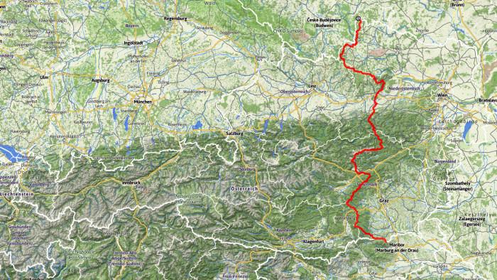 Mein 'extended thru-hike' am Nord-Süd-Weitwanderweg