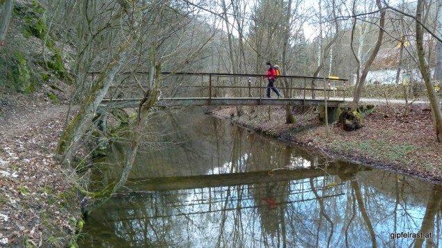 Die letzte Wandererbrücke für heute