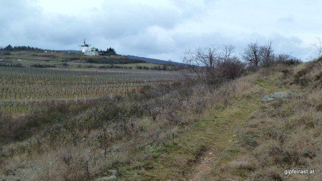 Die Windmühle bei Retz