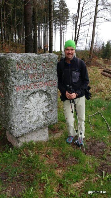 Startfoto knapp unterhalb des Nebelsteins