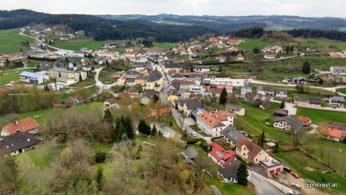 Blick auf Arbesbach