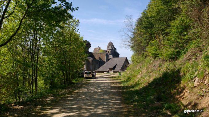 Bei der Ruine Aggstein