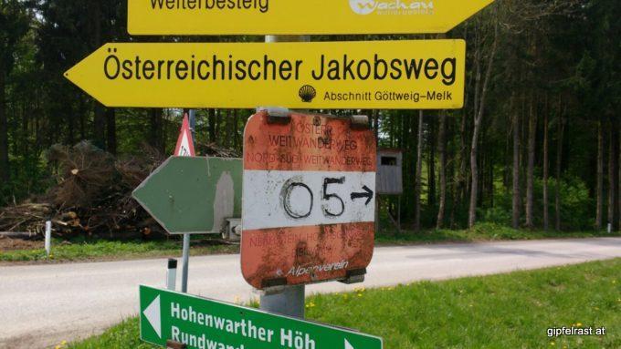 NSWW und Jakobsweg gehen wieder mal getrennte Wege.