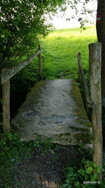 Kleine, aber stabile Brücke...