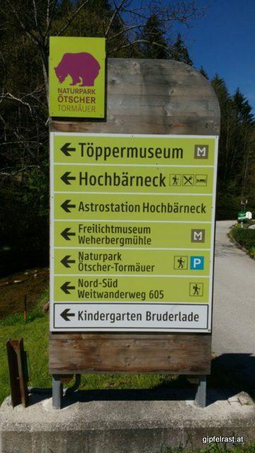 Der (6)05er ist eine der Attraktionen des Naturparks Ötscher-Tormäuer
