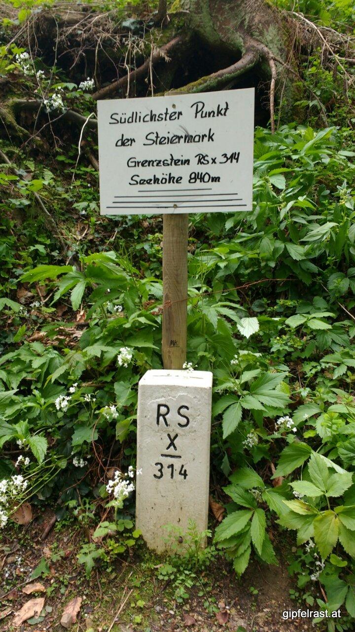 Der südlichste Punkt der Steiermark