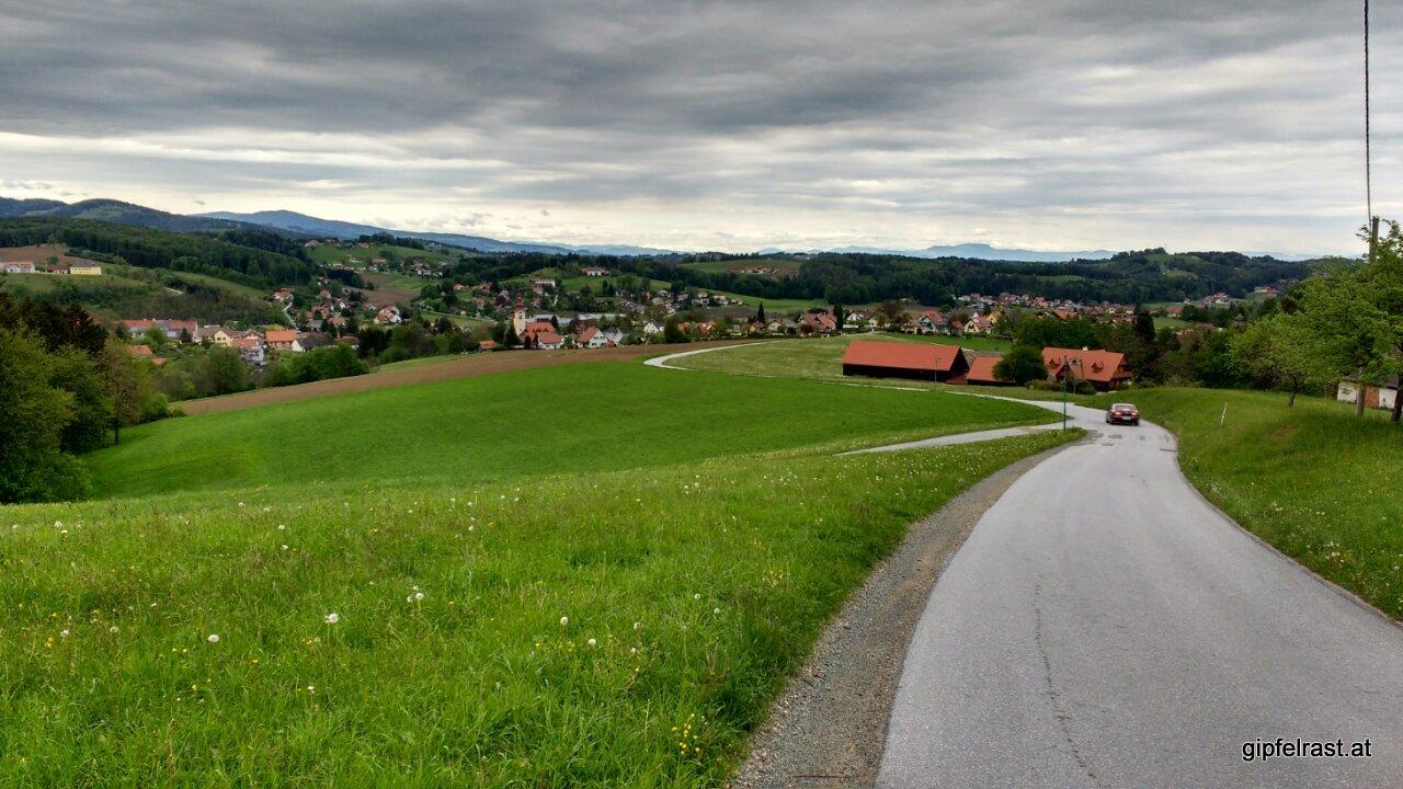 Tagesziel erreicht: Eibiswald