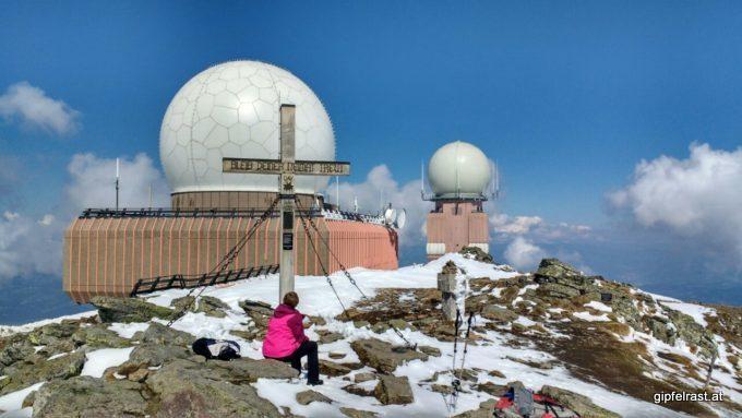 Am Gipfel des Großen Speikkogels