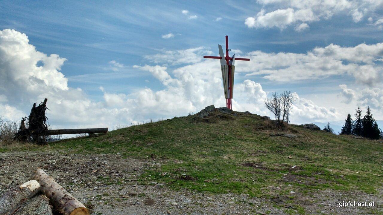 Am Gipfel der Mugel