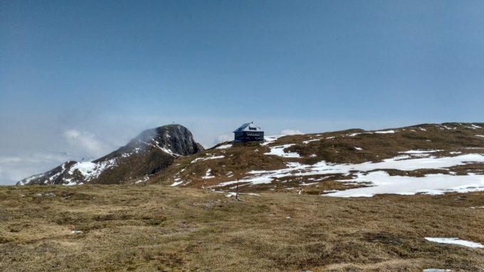 Reichenstein: Hütte und Gipfel
