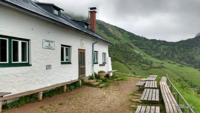 Heute geschlossen: die Leobner Hütte