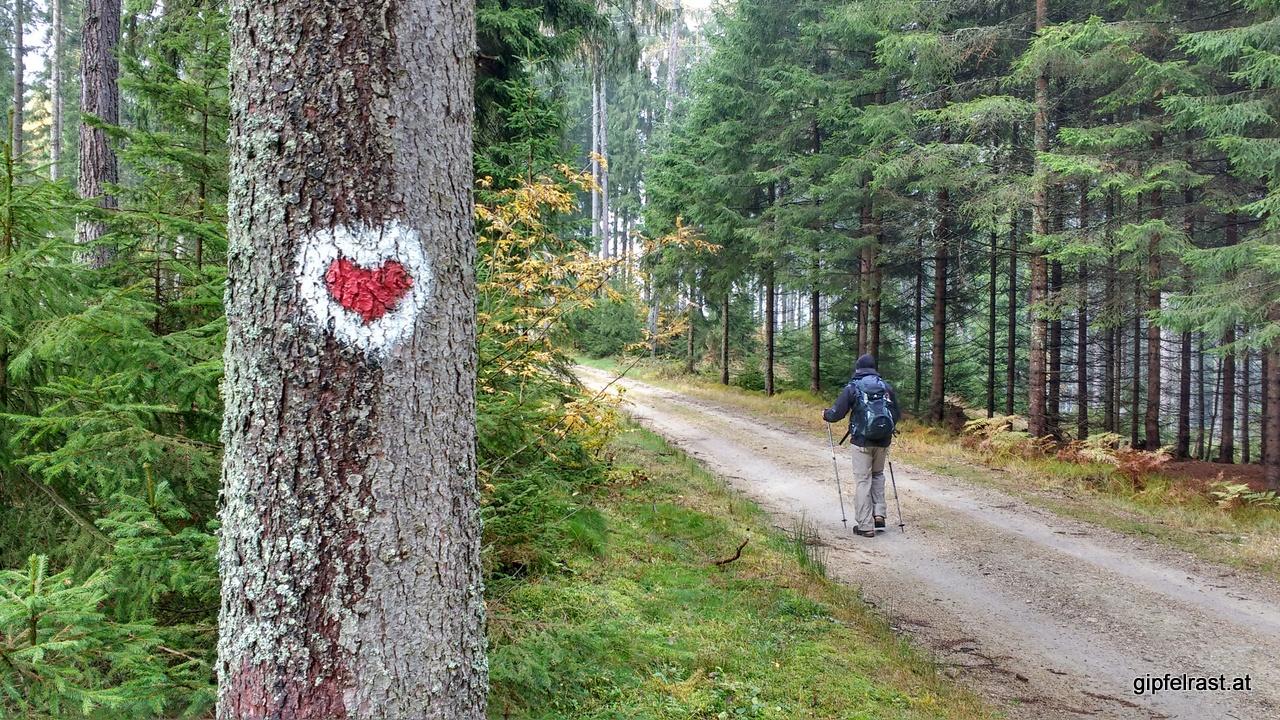 Ein Herz für Wanderer!