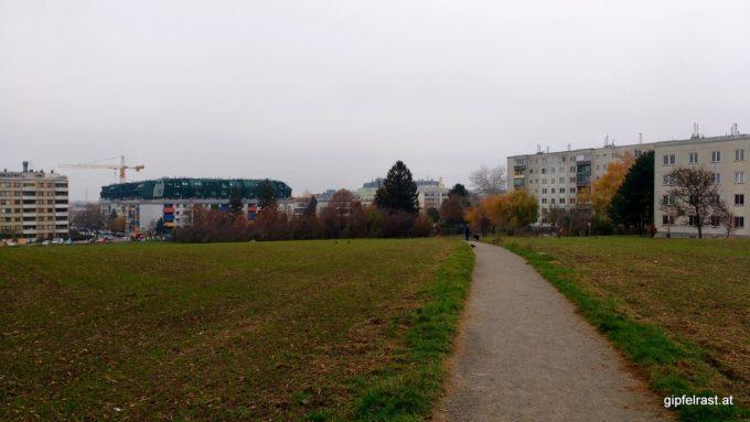 Richtung Kaiserebersdorfer Straße