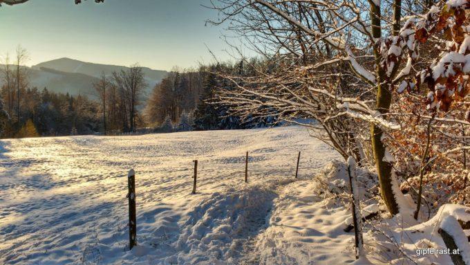 Prächtige Winterlandschaft